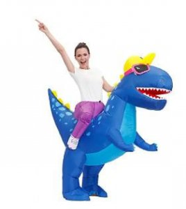 Party Fun Dinosaur costtume for adults