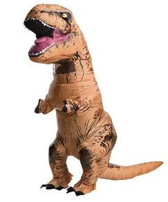 t-rex Inflatable dinosaur costumes for adults 2