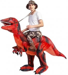 t-rex dinosaur costume for adults