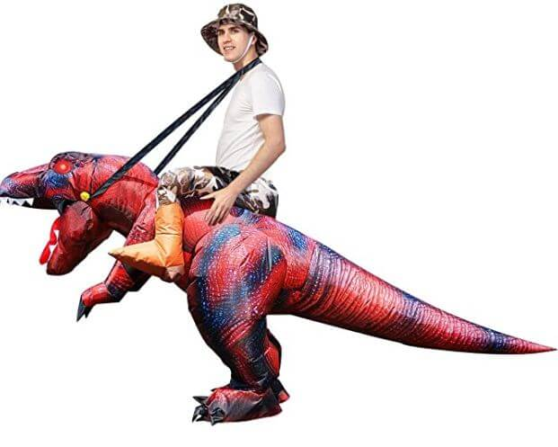 t-rex dinosaur costume for adults 3